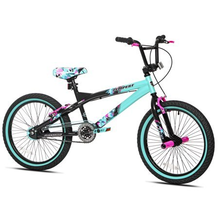 Capture-Girls-Attention-with-Soft-and-Sturdy-Kent-20-Tempest-Girls-BikeFeatures-Front-and-Rear-Hand-Brakes-Plus-Front-and-Rear-PegsSafe-and-Comfortable-Gift-Choice-for-KidsBlackGreen-0