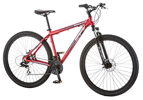 Mongoose-Mens-Impasse-HD-Bicycle-with-29-Wheels-Red-18Medium-0