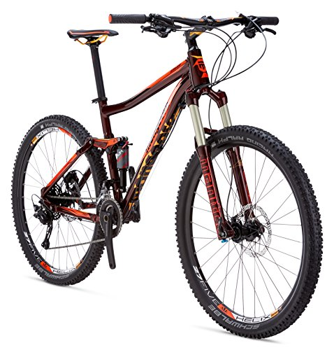 Mongoose-Salvo-Pro-275-Wheel-Frame-Mountain-Bicycle-Red-18Medium-0-0