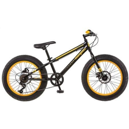 20-Mongoose-Massif-Boys-All-Terrain-Fat-Tire-Mountain-Bike-with-Huge-four-inch-Wide-Tires-BlackYellow-0