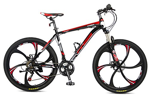 Merax-26-Aluminum-Mountain-Bike-Shimano-21-Speed-Bicycle-6-Spoke-Magnesium-Alloy-Wheels-Bike-Stylish-Black-0-0
