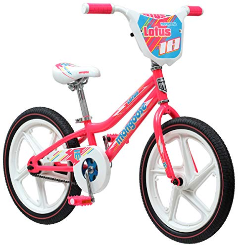 Mongoose-Lotus-Girls-Bicycle-18-Inch-Wheels-Pink-0