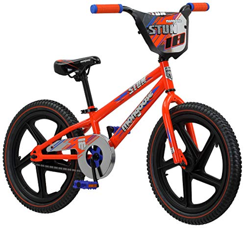 Mongoose-Stun-Boys-Freestyle-BMX-Bike-with-Training-Wheels-18-Inch-Wheels-0