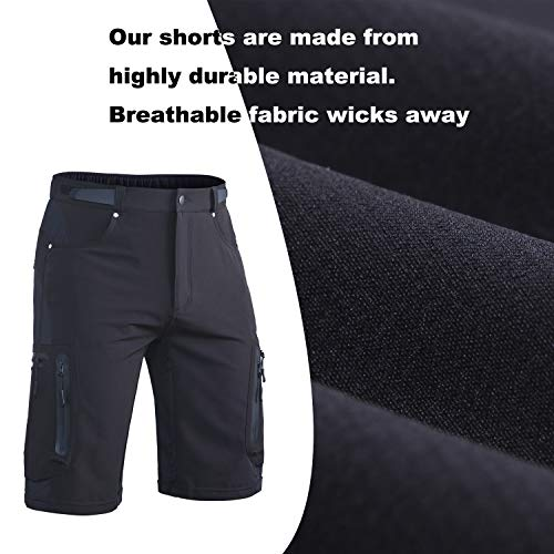 Ally-Padded-Mountain-Bike-Shorts-Mens-MTB-Shorts-Cycling-Bicycle-Shorts-with-Removable-Padding-Underwear-Liner-Water-Repellent-7-Pockets-0-1