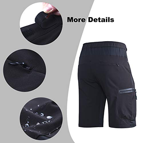 Ally-Padded-Mountain-Bike-Shorts-Mens-MTB-Shorts-Cycling-Bicycle-Shorts-with-Removable-Padding-Underwear-Liner-Water-Repellent-7-Pockets-0-2