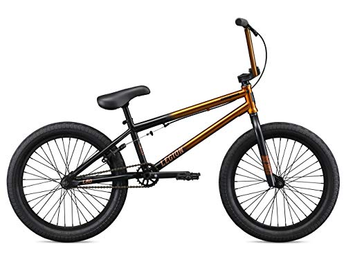 Mongoose-Legion-L80-Freestyle-BMX-Bike-for-Intermediate-to-Advanced-Riders-Featuring-4130-Chromoly-Frame-and-Micro-Drive-25x9T-BMX-Gearing-with-20-Inch-Wheels-CopperBlack-0-0