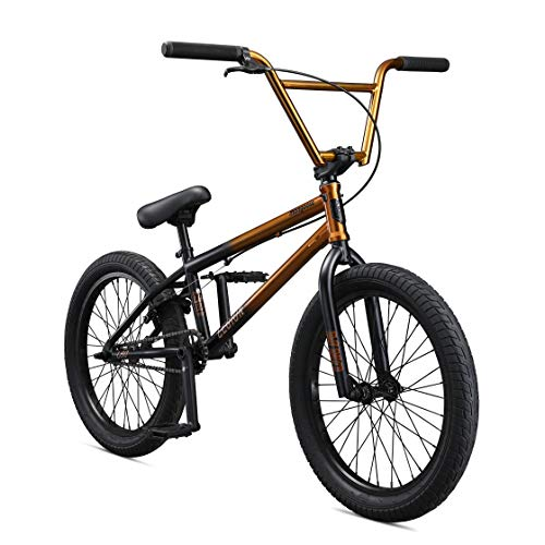 Mongoose-Legion-L80-Freestyle-BMX-Bike-for-Intermediate-to-Advanced-Riders-Featuring-4130-Chromoly-Frame-and-Micro-Drive-25x9T-BMX-Gearing-with-20-Inch-Wheels-CopperBlack-0