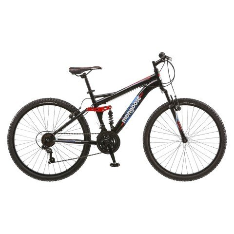 Mongoose-Mens-Standoff-26-Mountain-Bike-Blackred-0