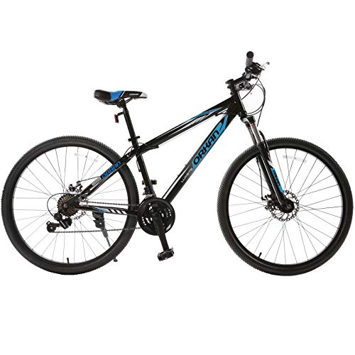 Murtisol-Mountain-Bike-275-with-SuspensionDual-Disc-BrakeHybrid-Bicycle-21-Speed-in-4-ColorBlue-Black-0