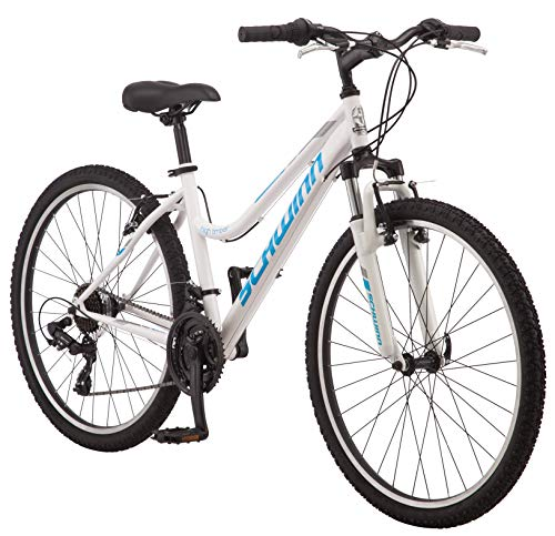 Schwinn-High-Timber-Womens-Mountain-Bike-26-Wheels-WhiteBlue-0
