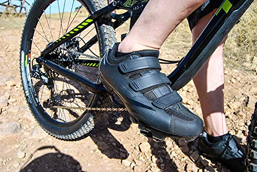 Tommaso-Montagna-100-Mens-Mountain-Bike-MTB-Spin-Cycling-Shoe-Compatible-with-SPD-Cleats-Black-43-0-2