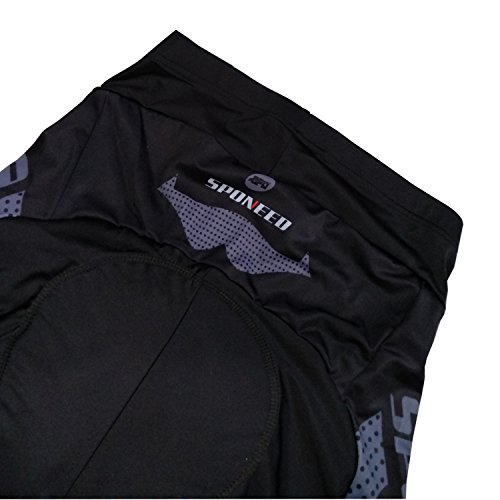 sponeed-Mens-Bike-Shorts-Padded-Race-Fit-Bicycle-Bottoms-Not-Baggy-Cycling-Short-Racing-Fit-US-Medium-Grey-0-3