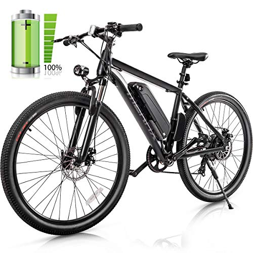 Merax-26-Electric-Mountain-Bicycle-350W-Electric-Bike-with-36V88AH-Removable-Lithium-Ion-Battery-Shimano-7-Speed-Shifter-Black-0