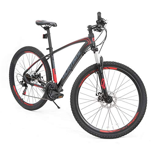 Murtisol-Aluminum-Mountain-Bike-275-inches-Hybrid-Bicycle-with-Dual-Disc-Brake-Shimano-21-Speeds-Derailleur-Light-Weight-Frame-Suspension-Fork-Adjustable-SeatRed-Black-0