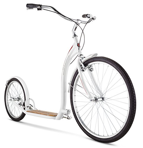 Schwinn-Adult-Shuffle-Scooter-with-26-Wheels-White-0