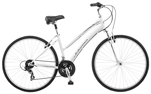 Schwinn-Network-10-700c-Womens-16-Hybrid-Bike-16-InchSmall-White-0