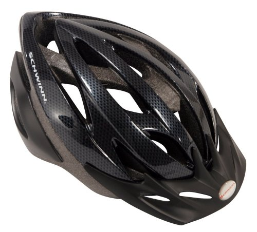 Schwinn-Thrasher-Lightweight-Microshell-Bicycle-Helmet-Featuring-360-Degree-Comfort-System-with-Dial-Fit-Adjustment-Adult-Carbon-0