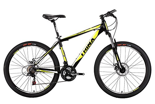 Trinx-MTB-Mens-Mountain-Bike-26-inch-Shimano-21-Speed-M136-Yellow-19inch-0