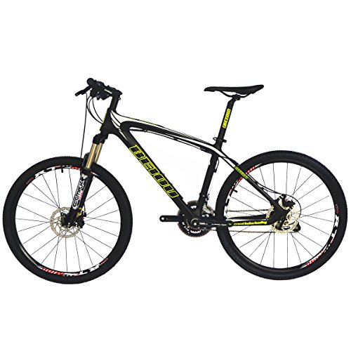 BEIOU-Toray-T700-Carbon-Fiber-Mountain-Bike-Complete-Bicycle-MTB-27-Speed-26-Inch-Wheel-Shimano-370-CB004-WhiteBlack-15-Inch-0-0