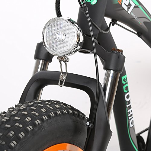 ECOTRIC-Fat-Tire-Electric-Bike-Beach-Snow-Bicycle-40-inch-Fat-Tire-26-1000W-48V-13Ah-ebike-Electric-Mountain-Bicycle-with-Shimano-7-Speeds-Black-Lithium-Battery-Electric-Mountain-Bicycle-Orange-0-3