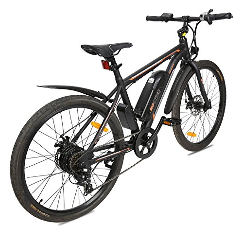 ECOTRIC-New-City-Travel-26-Electric-Bike-Mountain-350W-Power-36V9AH-Lithium-Battery-City-Ebike--Most-Parts-Have-Been-Assembled-Before-Packaging--20-mphh-Pure-Electric-Maximum-Speed-Black-0-0