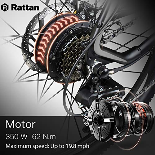 Rattan-26-inch-Aluminum-Electric-Mountain-Bike-Shimano-7-Speed-E-Bike-36V-104Ah-Lithium-Battery-350W-Electric-Bicycle-26-inch-Adult-Assisted-E-Bike-0-2