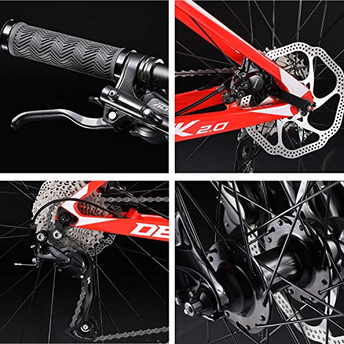 SAVADECK-Carbon-Fiber-Mountain-Bike-DECK20-MTB-2627529-Complete-Hard-Tail-Mountain-Bicycle-27-Speed-Shimano-M2000-Group-Set-0-2
