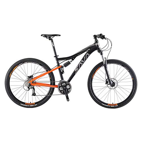 SAVADECK-Dual-Suspension-Mountain-Bike-275-Full-Suspension-Aluminum-Alloy-Mountain-Bicycle-27-Speed-MTB-Shimano-M2000-Group-Set-0