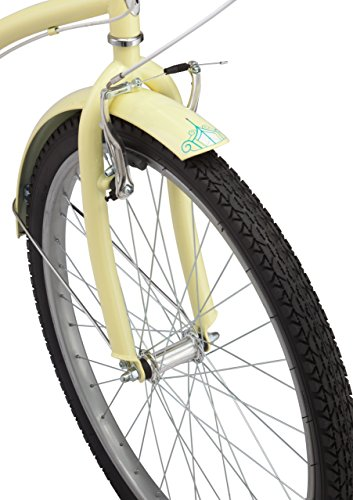 Schwinn-Perla-Womens-Cruiser-Bicycle-Featuring-18-Inch-Step-Through-Steel-Frame-and-7-Speed-Drivetrain-with-Front-and-Rear-Fenders-Rear-Rack-and-26-Inch-Wheels-Yellow-0-1