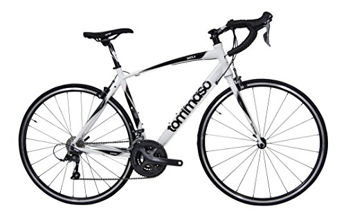 Tommaso-Imola-Endurance-Aluminum-Road-Bike-Shimano-Claris-R2000-24-Speeds-White-Large-0