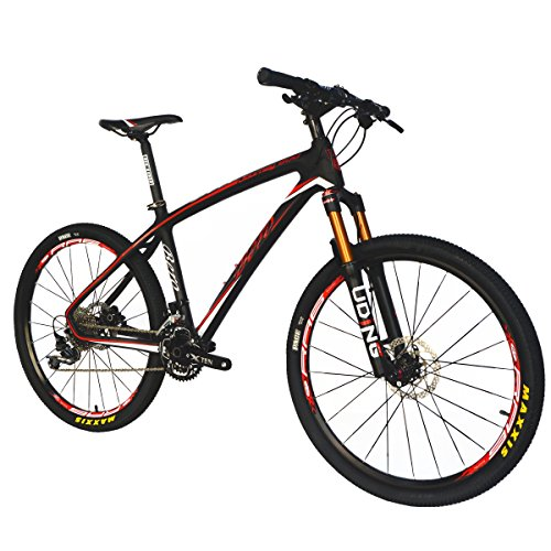 BEIOU-Carbon-Fiber-Mountain-Bike-Hardtail-MTB-1065-kg-Shimano-M6000-DEORE-30-Speed-Ultralight-Frame-RT-26Inch-Professional-Internal-Cable-Routing-Toray-T800-Carbon-Hubs-Matte-CB025A-19-Inch-0-0