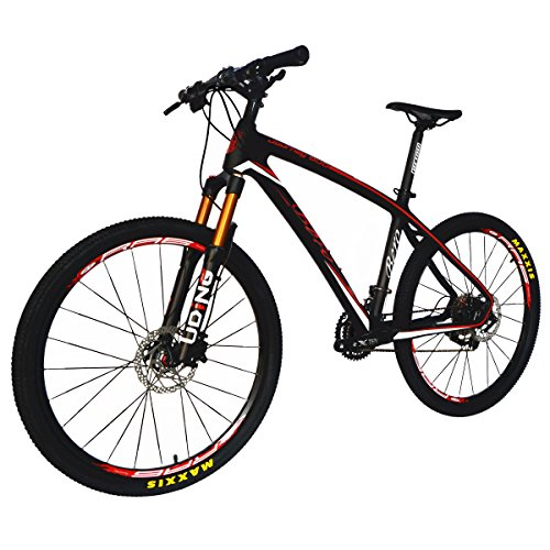 BEIOU-Carbon-Fiber-Mountain-Bike-Hardtail-MTB-1065-kg-Shimano-M6000-DEORE-30-Speed-Ultralight-Frame-RT-26Inch-Professional-Internal-Cable-Routing-Toray-T800-Carbon-Hubs-Matte-CB025A-19-Inch-0-1