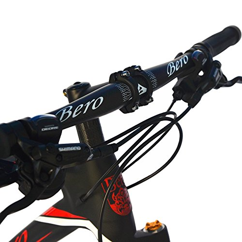 BEIOU-Carbon-Fiber-Mountain-Bike-Hardtail-MTB-1065-kg-Shimano-M6000-DEORE-30-Speed-Ultralight-Frame-RT-26Inch-Professional-Internal-Cable-Routing-Toray-T800-Carbon-Hubs-Matte-CB025A-19-Inch-0-2