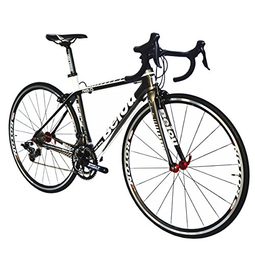 BEIOU-Carbon-Road-Bike-700C-23mm-Shimano-TIAGRA-4700-20-Speeds-Complete-Racing-Bicycle-T800-Ultralight-Frame-Fork-3K-012B-Silver-480mm-0-0