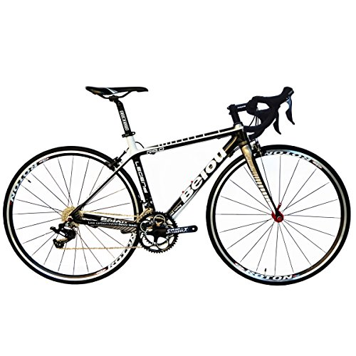 BEIOU-Carbon-Road-Bike-700C-23mm-Shimano-TIAGRA-4700-20-Speeds-Complete-Racing-Bicycle-T800-Ultralight-Frame-Fork-3K-012B-Silver-480mm-0
