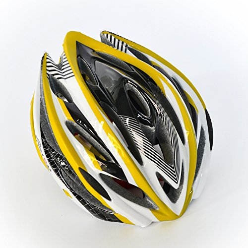 BEIOU-Unibody-Mountain-Bike-Road-Racing-Bike-Equipment-Cycling-Helmet-YELLOW-M-0-0