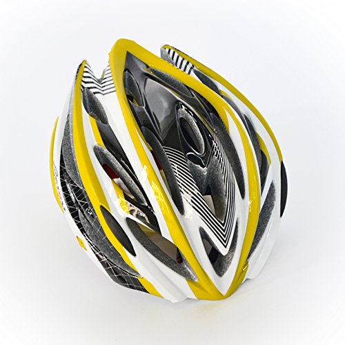 BEIOU-Unibody-Mountain-Bike-Road-Racing-Bike-Equipment-Cycling-Helmet-YELLOW-M-0-3