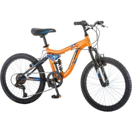 20-Mongoose-Ledge-21-Boys-Mountain-Bike-with-aluminum-suspension-frame-and-alloy-rim-OrangeBlue-0
