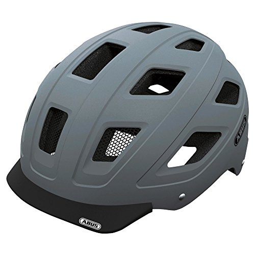 ABUS-Hyban-Urban-Helmet-with-Integrated-LED-Taillight-Concrete-Grey-Medium-0