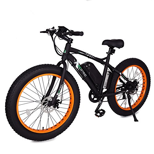 ECOTRIC-Fat-Tire-Electric-Bike-Beach-Snow-Bicycle-26-40-inch-Fat-Tire-ebike-500W-36V12AH-Electric-Mountain-Bicycle-with-7-Speeds-Lithium-Battery-BlackOrangeBlue-Orange-0