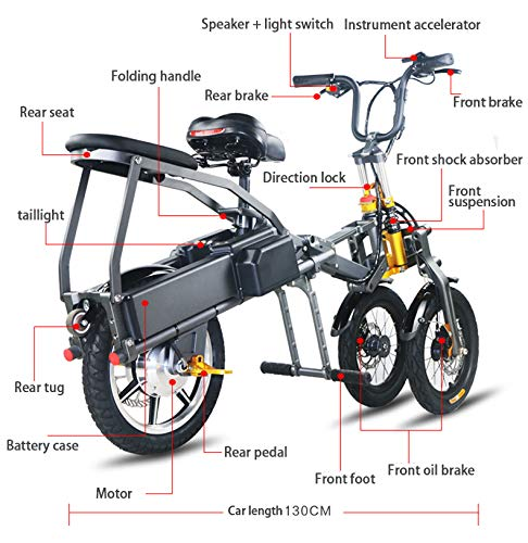 Electric-Bikes-for-Ladies-Folding-Collapsible-Frame-Adults-Unisex-Scooter-0-0