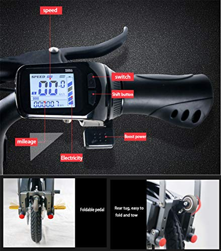 Electric-Bikes-for-Ladies-Folding-Collapsible-Frame-Adults-Unisex-Scooter-0-1