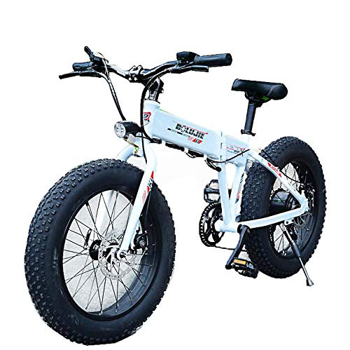 Electric-Folding-Adults-Mountain-MenLadies-City-Bike-Pedal-Assist-Bicycle-0
