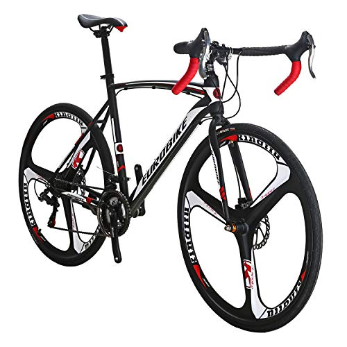 Eurobike-Dual-Disc-Brake-XC550-Road-Bike-21-Speed-Shifting-System-54Cm-Steel-Frame-700C-3-Spoke-Wheels-Bicycle-0
