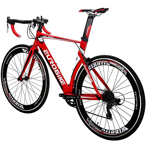 Eurobike-OBK-Lightweight-Aluminium-Road-Bike-700C-Wheels-Commuter-Cycling-Bicycle-14-Speed-54cm-Red-0-2