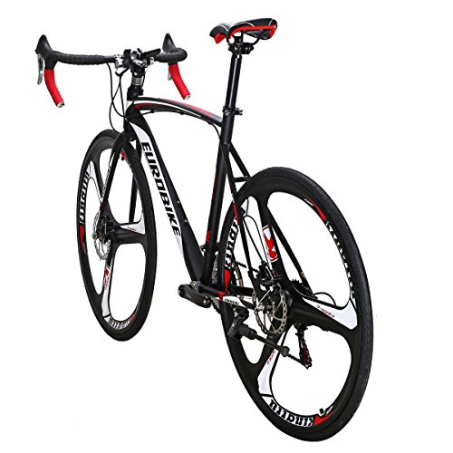 Eurobike-Road-Bike-TSM-XC550-Bike-21-Speed-Dual-Disc-Brake-54CM-3-Spoke-Wheels-Bicycle-0