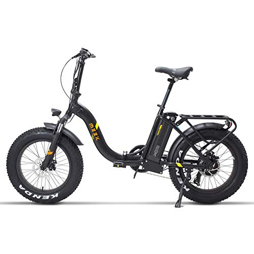 FJNS-Electric-Mountain-Bike-48V-13Ah-Folding-Electric-Bicycle-with-Removable-Battery-and-LCD-Display-Foldable-Electric-Bike-20-inch-40-Widened-tire-Beach-ebike-25-40kmh-400W-0