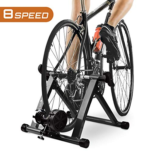 HEALTH-LINE-PRODUCT-Indoor-Bike-Trainer-Magnetic-26-29-Bicycle-Exercise-Trainer-Quiet-Noise-Reduction-Stationary-Cycling-Stand-0