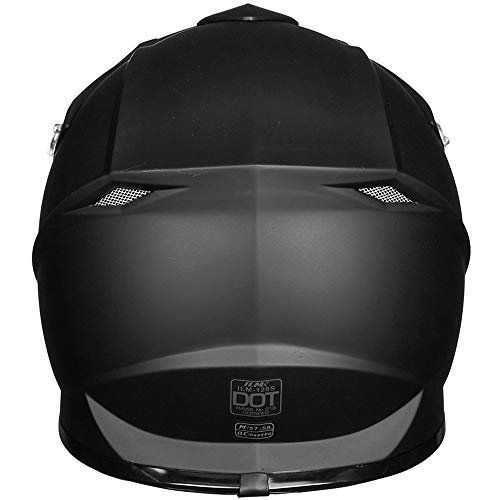 ILM-Adult-ATV-Motocross-Dirt-Bike-Motorcycle-BMX-MX-Downhill-Off-Road-MTB-Mountain-Bike-Helmet-DOT-Approved-MATTE-BLACK-Adult-XXL-0-3