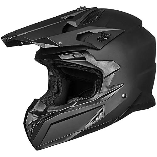ILM-Adult-ATV-Motocross-Off-Road-Street-Dirt-Bike-Full-Face-Motorcycle-Helmet-DOT-Approved-MX-MTV-Suits-Men-Women-L-Matte-Black-0